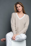 DELICE WOMEN SWEATER 100% CASHMERE