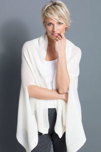 DUSTY SCARF BOLERO CASHMERE FILAMENT SILK