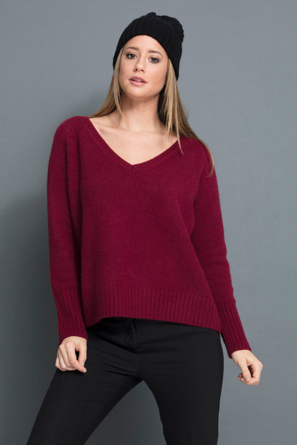 DYLAN HOOD WOOL CASHMERE
