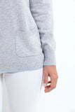 EVA2 Women Sweater Bi Color 100% cashmere