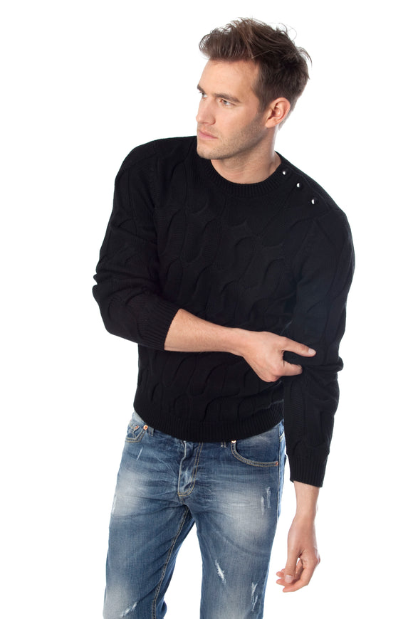 FARCE- VSM SWEATER FOR MEN MERINO WOOL