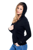 HELA WOMEN HOODIES CASHMERE