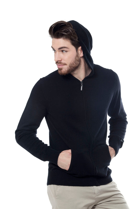 HELLY HOODIES 100% CASHMERE
