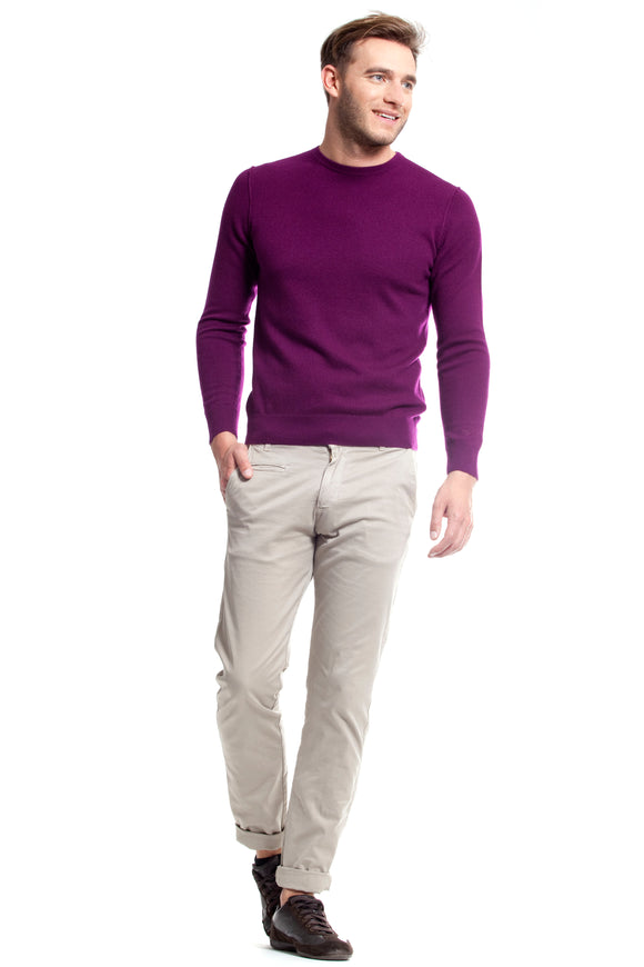 PACEY MEN SWEATER CASHMERE