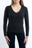 PALOMA BLACK & GREY COLORS 100% CASHMERE