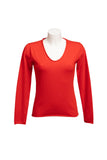 PALOMA RED & ORANGE COLORS 100% CASHMERE