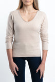 PALOMA Beige & Brown Colors 100% CASHMERE