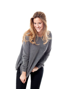 POLANT WOMAN SWEATER CASHMERE+SILK