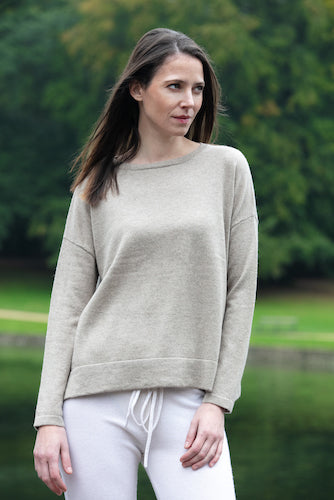 PALAZZO Woman light sweater 100% cashmere