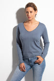 PETUNIA Women sweater 85 % cotton 15 % cashmere