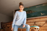 DALIA Women Sweater with Pockets 100 % cashmere