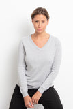 DENZEL WOMEN SWEATER WITH LUREX 100% CASHMERE