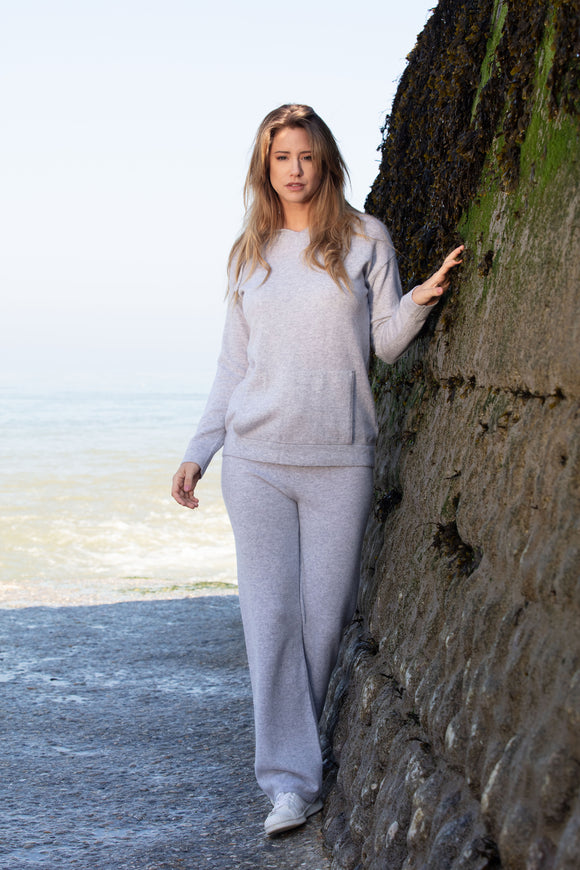 EOLE Women Hoodies 100% Cashmere