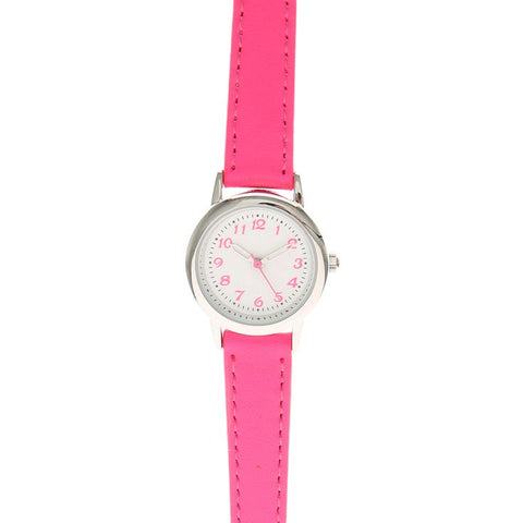 Neon Pink Skinny Watch