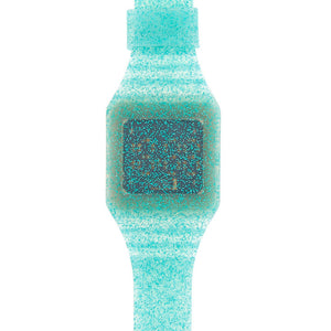 Glitter LED Watch - Turquoise