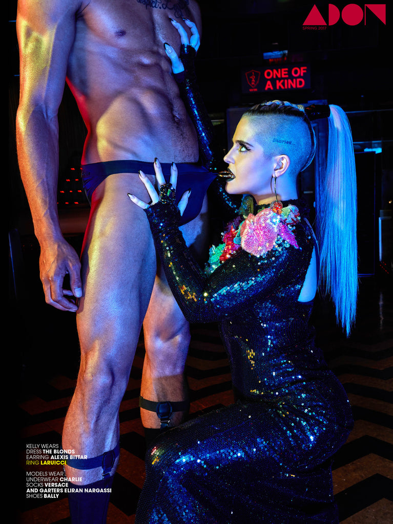 """There's No F*cking Secret"" LARUICCI in Adon Magazine!"