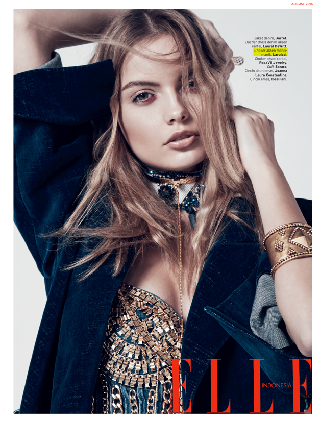 Winter Blues, Laruicci in ELLE Indonesia