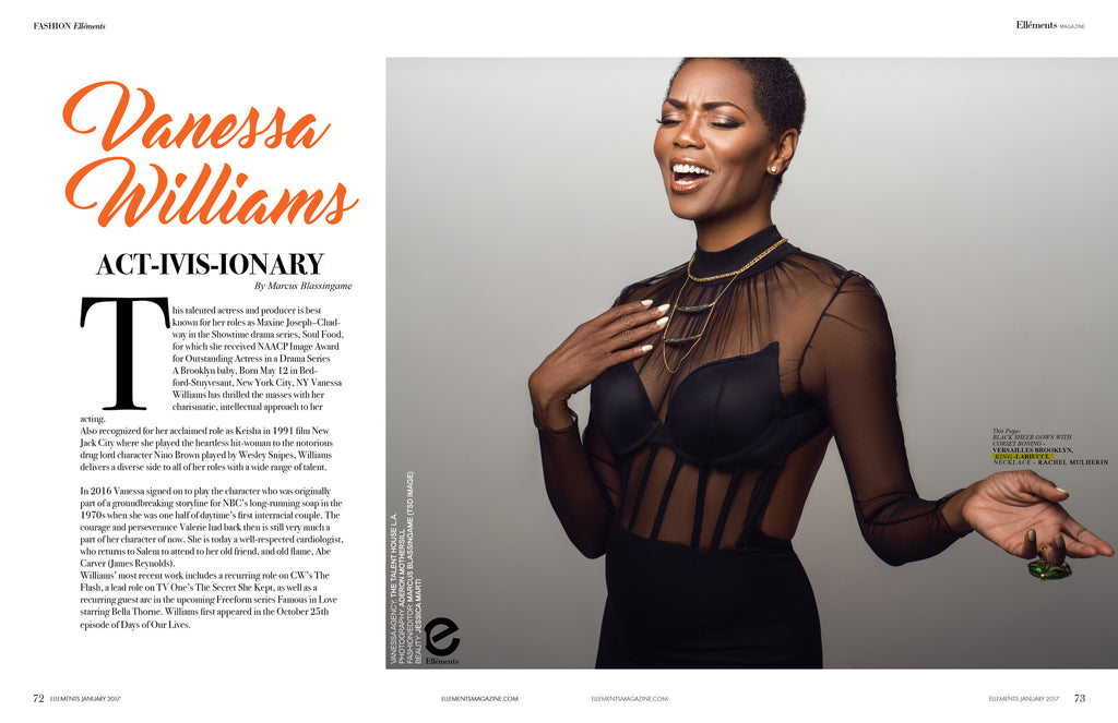 Vanessa Williams in LARUICCI Elléments Magazine!