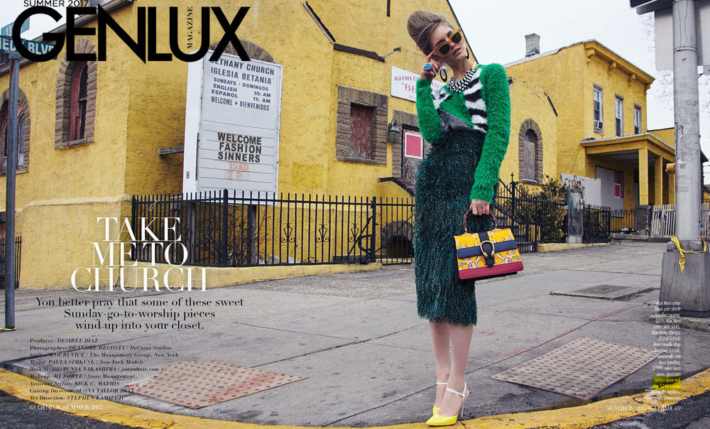 """Take Me To Church"" LARUICCI in Genlux Magazine!"