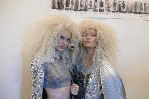 LARUICCI X The Blonds, Behind the Scenes