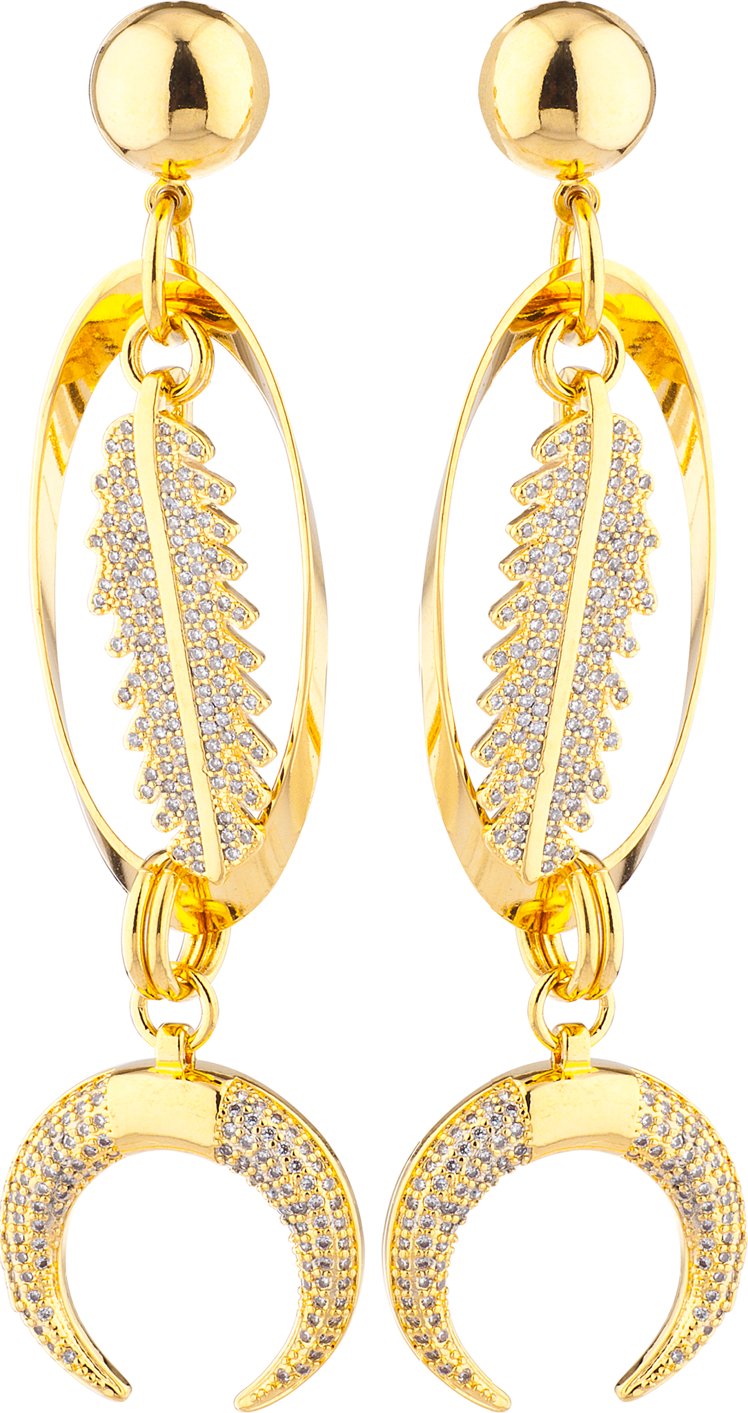 LARUICCI EARTH TIDES EARRING