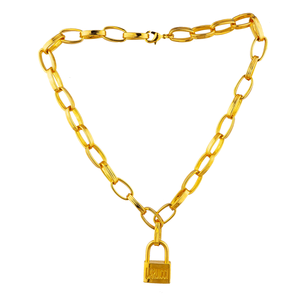 Laruicci Signature Lock Necklace