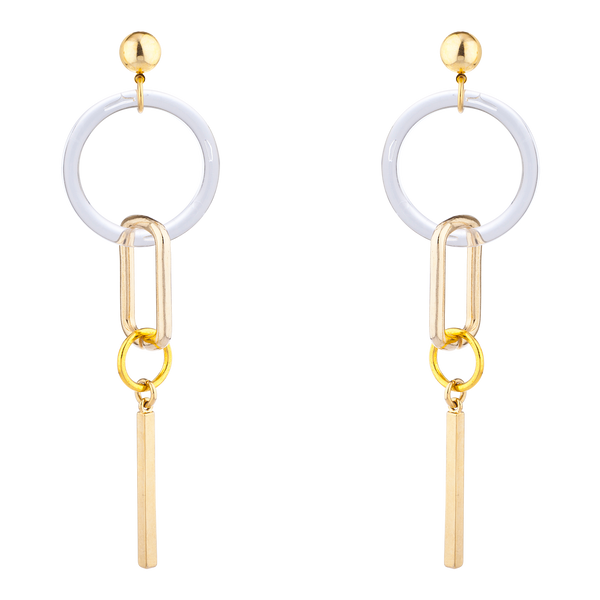 LARUICCI DOWN TO EARTH EARRINGS