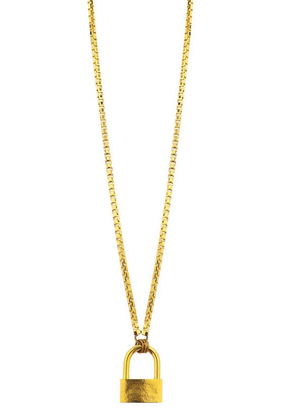 Laruicci Lock Box Necklace