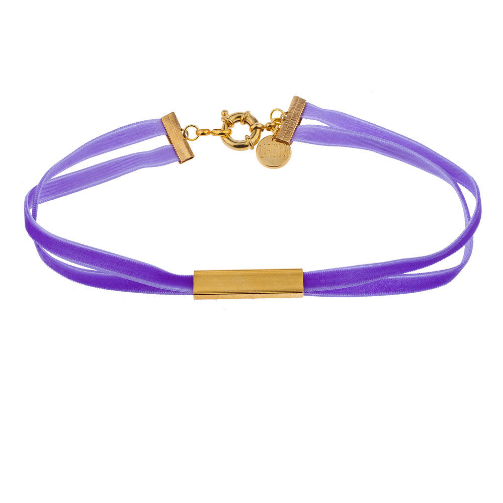 Purple Rain choker