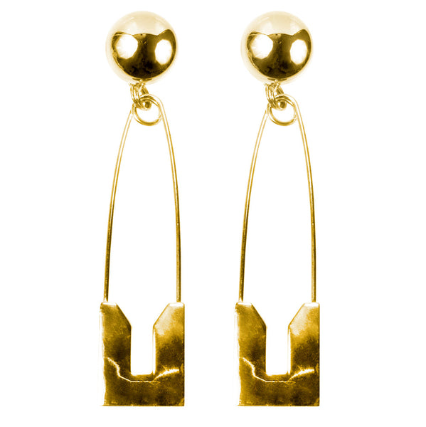 LARUICCI PIN EARRINGS