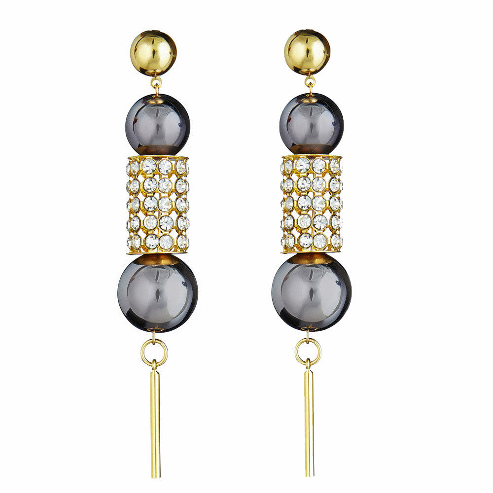 LARUICCI CRAZY HORSE EARRINGS