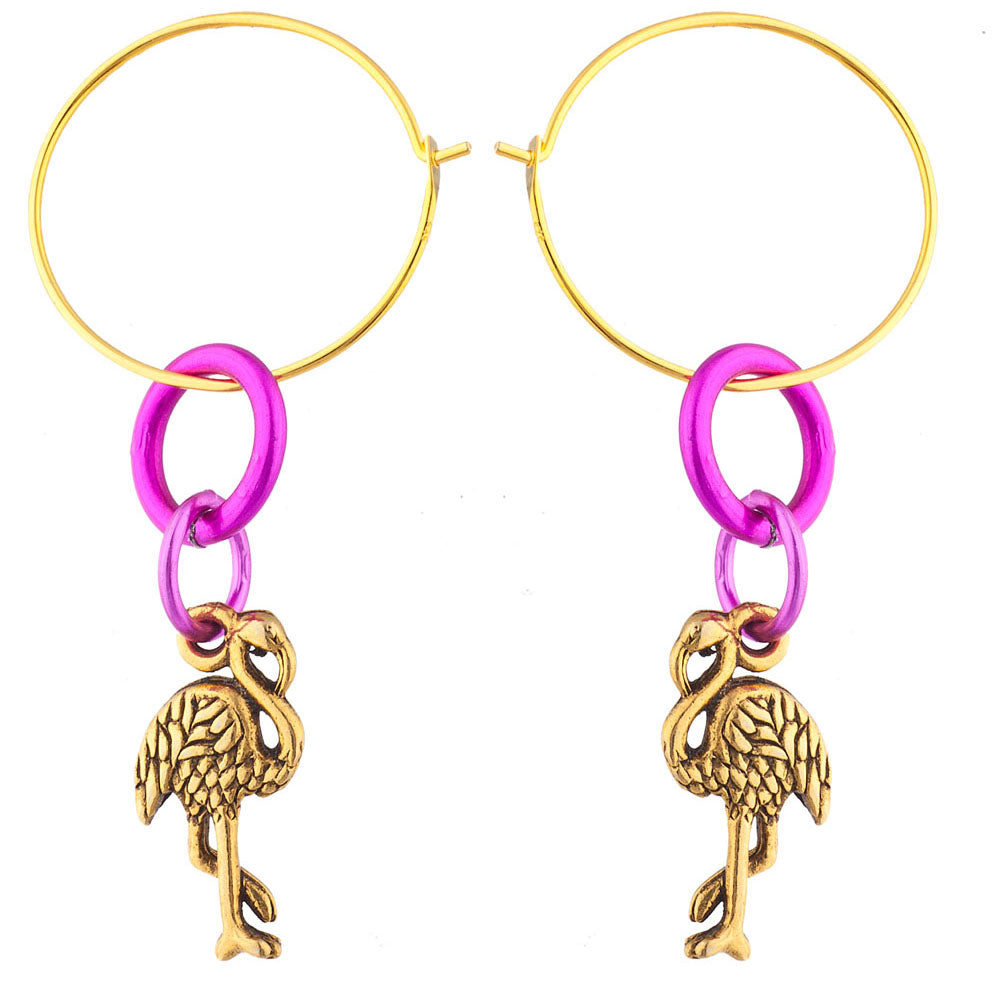 Laruicci Flamingo Earrings