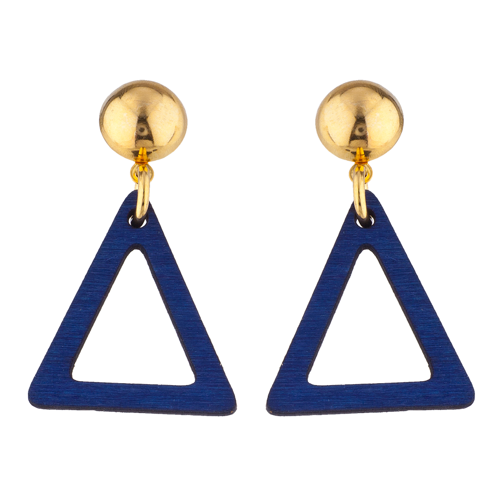 Blue Eyed Jack Earrings