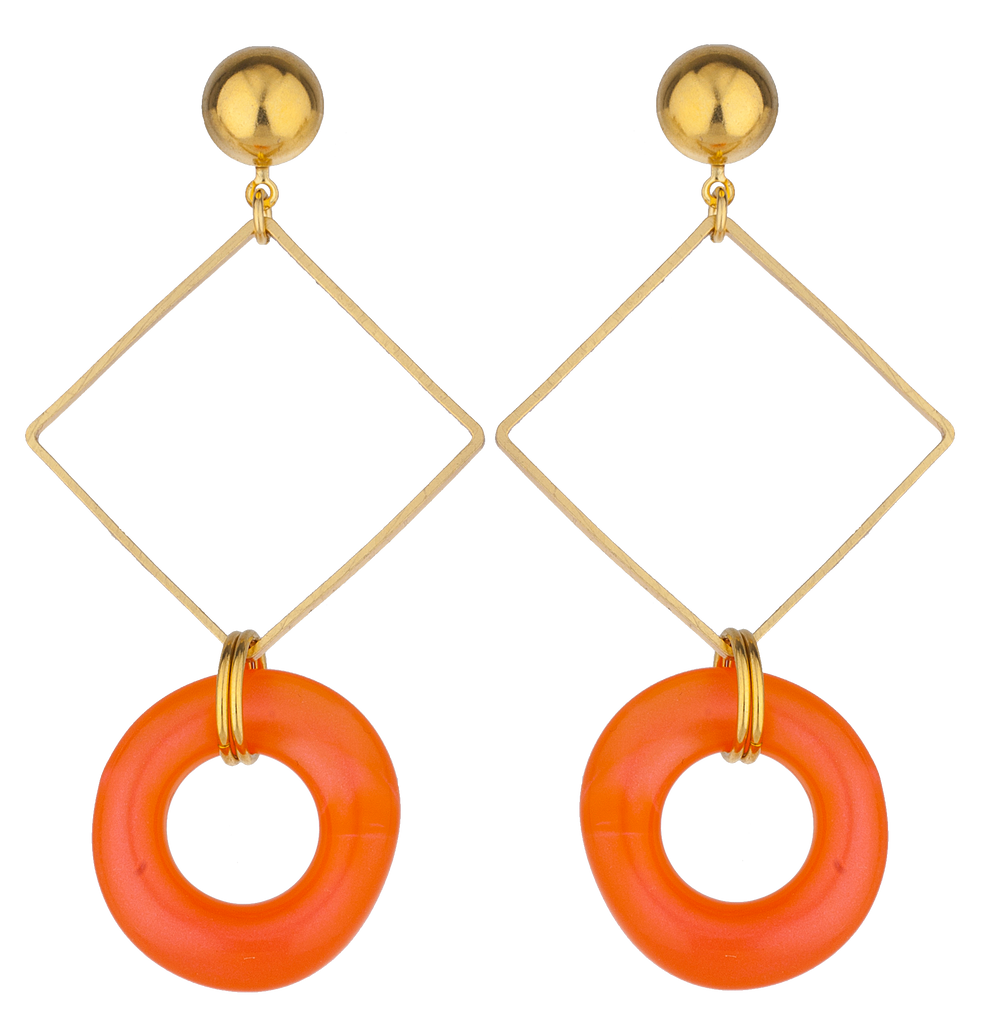Mango Melon Earrings