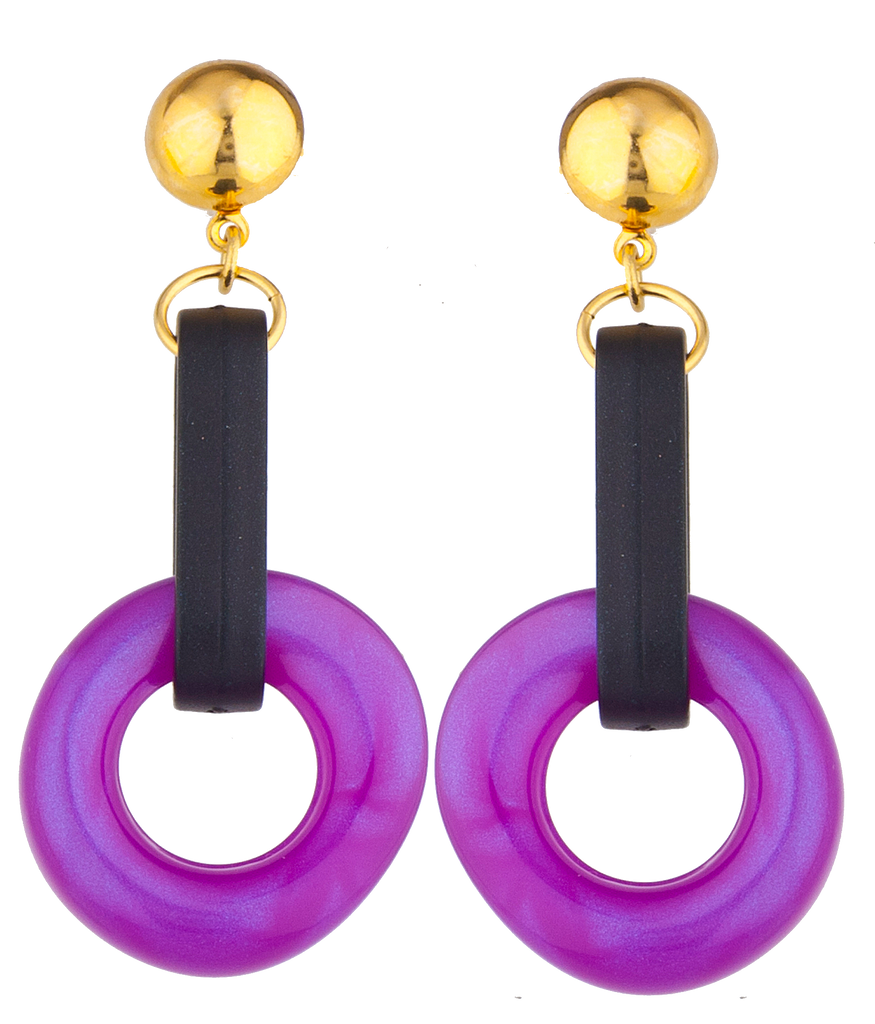 Sour Grape Earrings