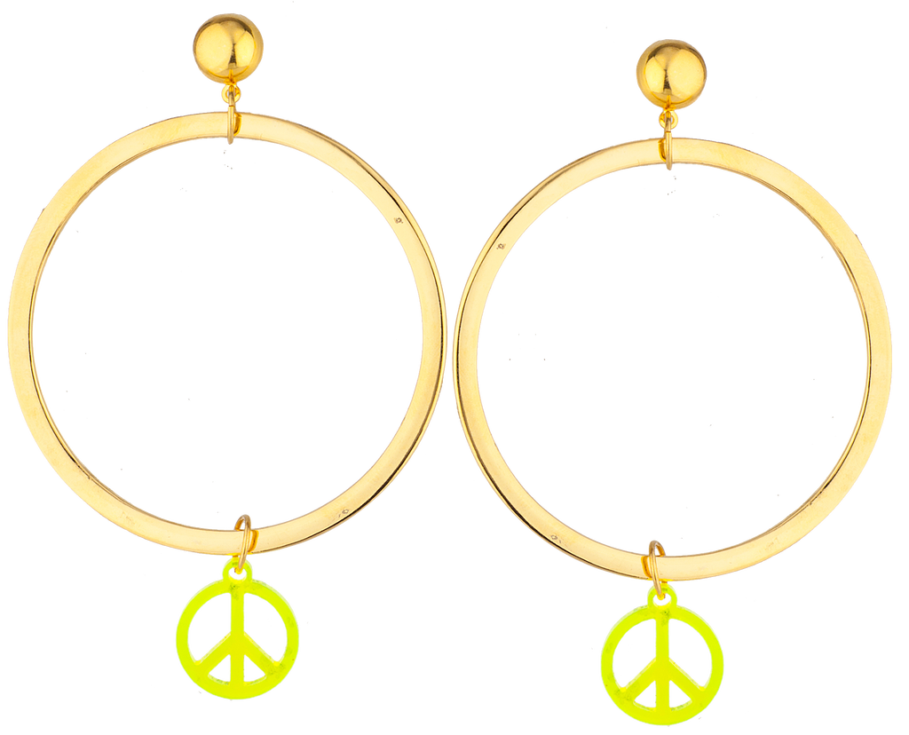 War Is Over Earrings