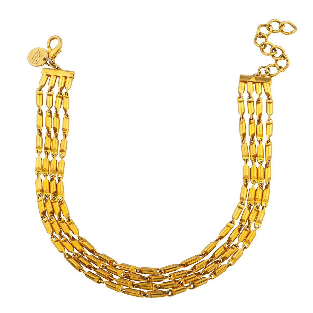 Golden-Tail Necklace