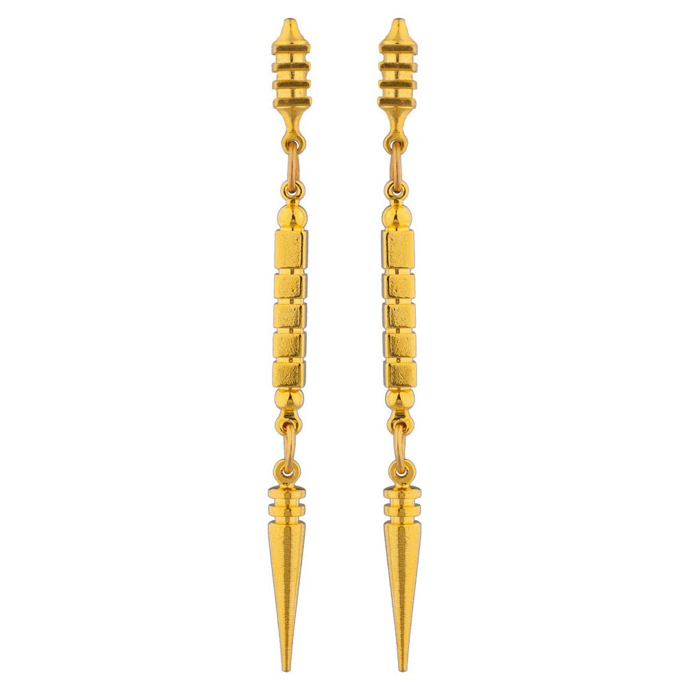 LARUICCI COSMIC RAY EARRINGS