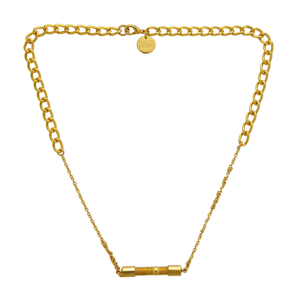 LARUICCI SCREW NECKLACE