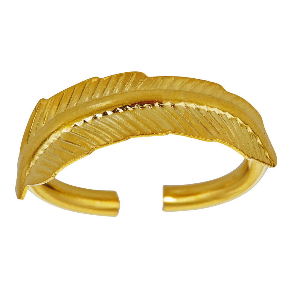 LARUICCI FEATHER RING
