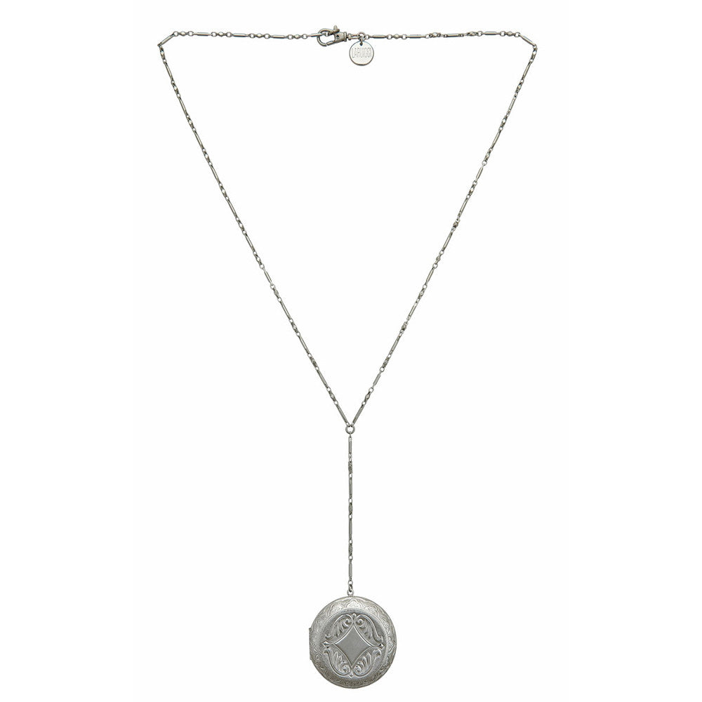 LARUICCI SILVER SCREEN NECKLACE