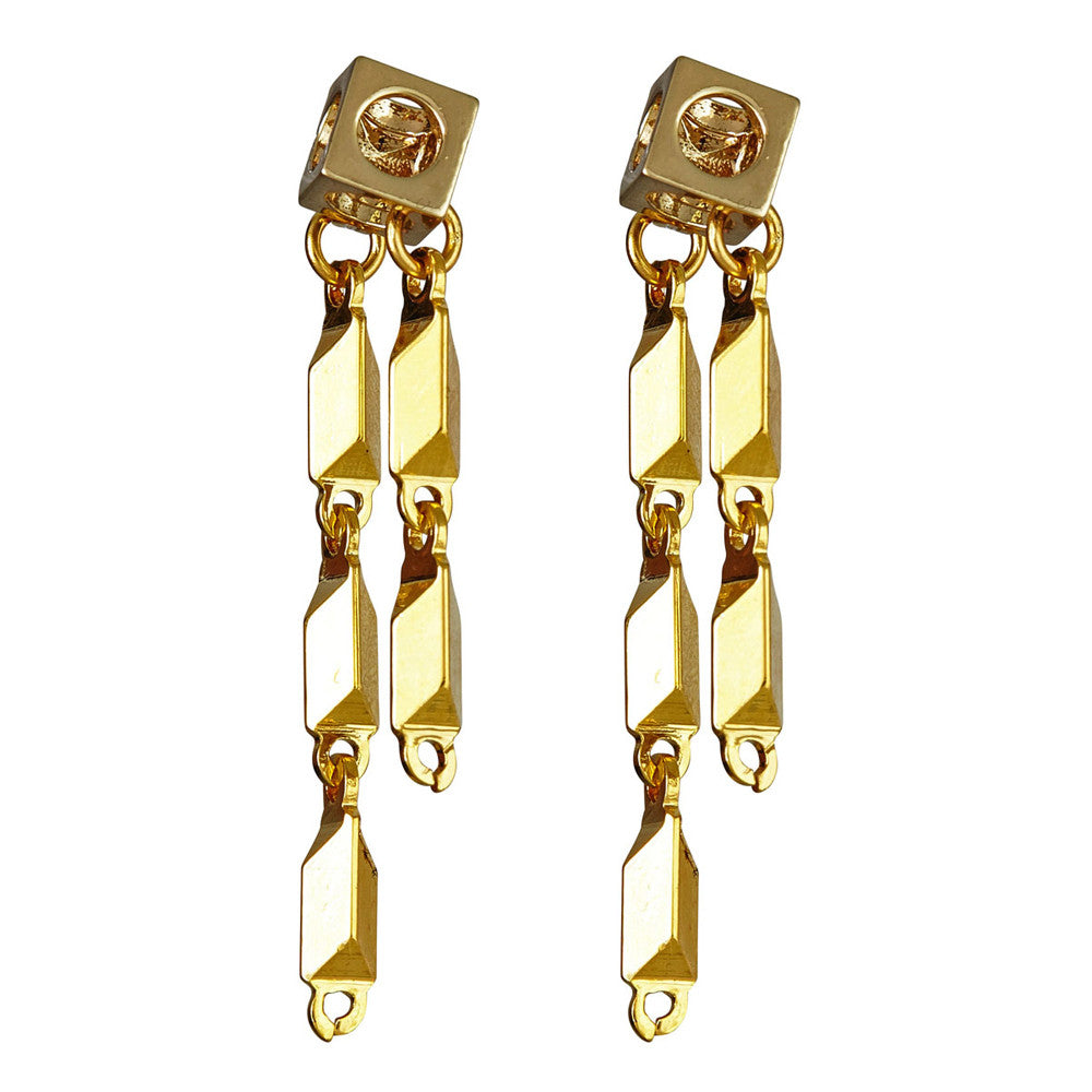 LARUICCI RAY GUN EARRINGS
