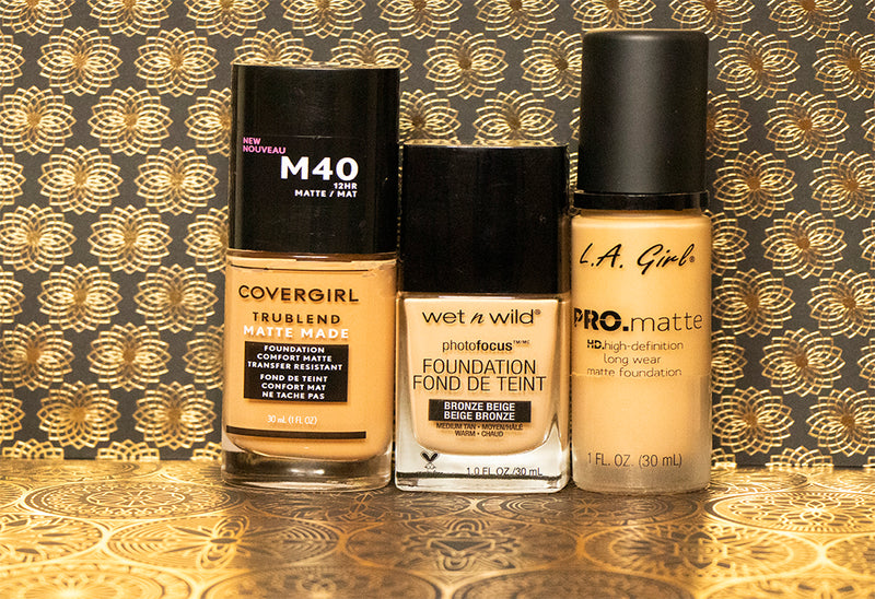 We Tried 3 Drugstore Foundations, So You'll Know Which One to Buy