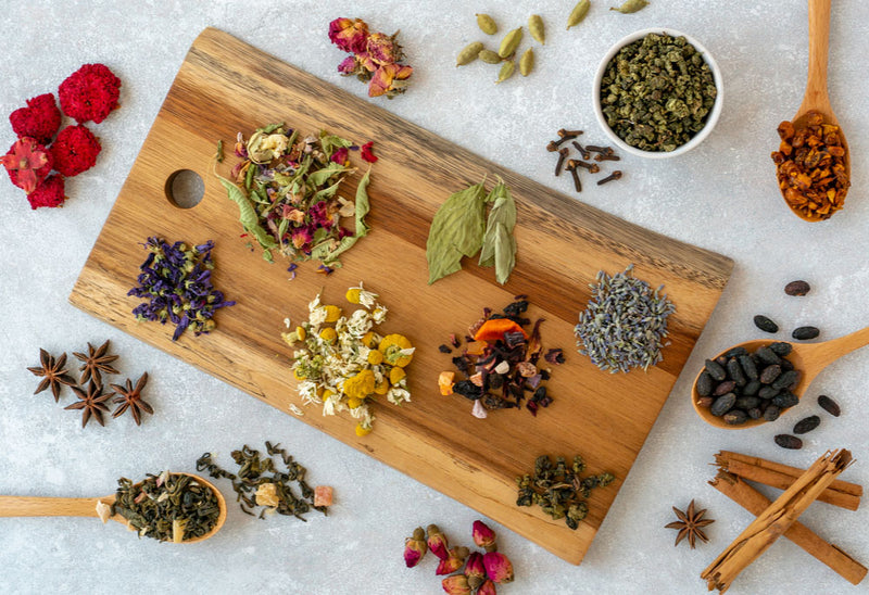 Spices, Herbs and Foods That Combat Aging