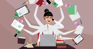 The truth about multitasking and how it aggravates your doshas