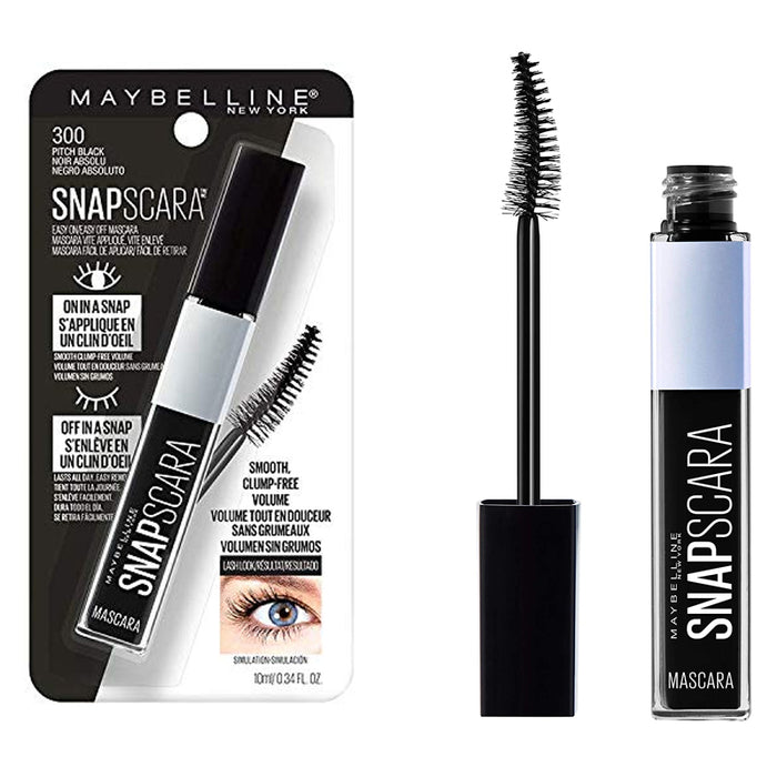 Maybelline New York Snapscara Washable Mascara Pitch Black