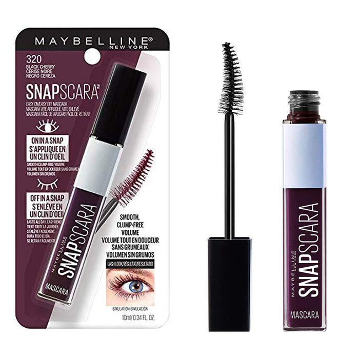 Maybelline New York Snapscara Washable Mascara Black Cherry
