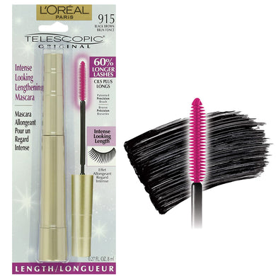 L'Oreal Telescopic Original black brown mascara