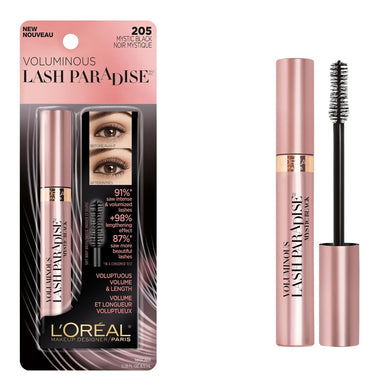 L'Oreal Voluminous Lash Paradise Washable Mascara Black Mystic