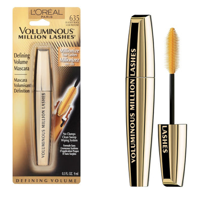L'Oreal Voluminous Million Lashes Mascara Blackest Black
